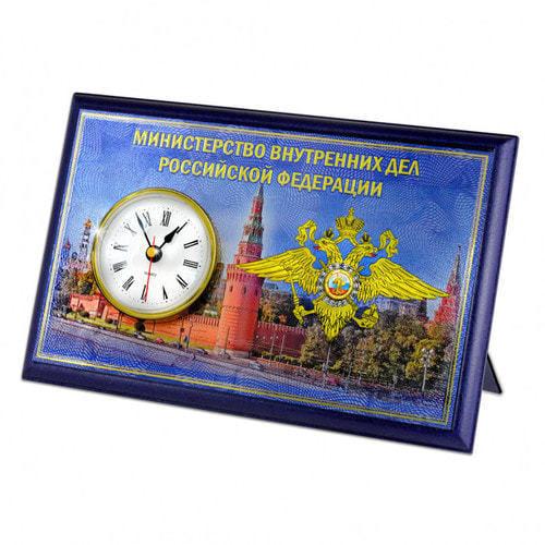 """Подарочные часы """"МВД"""" (фото, вид 1)"""