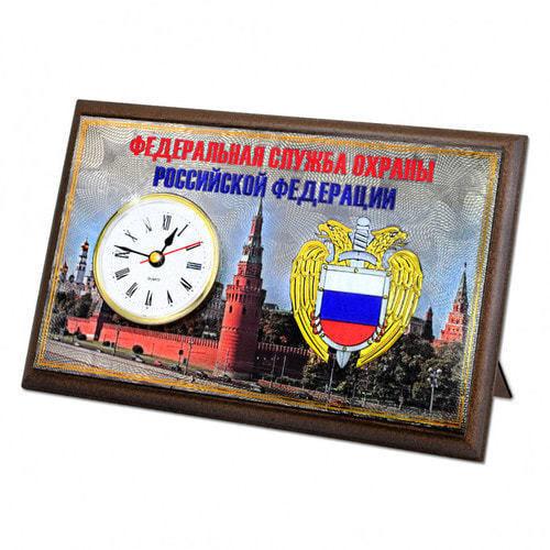 """Подарочные часы """"Федеральная служба охраны"""" (фото, вид 2)"""