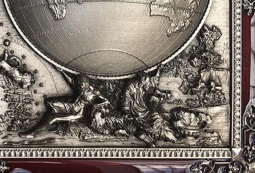 """Панно """"Карта Мира"""" малое (фото, вид 1)"""