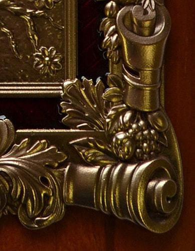 "Деревянная ключница настенная ""Денежное дерево"" (26 х 21 см) (фото, вид 2)"
