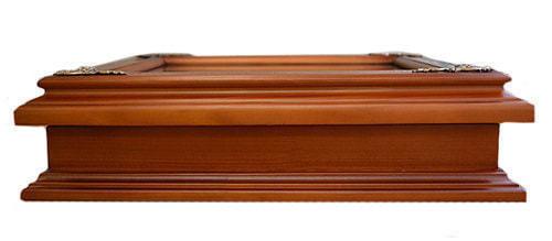 Деревянная ключница с гербом России настенная (29 х 34 см) (фото, вид 2)