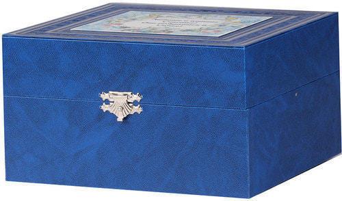 Подарочный набор c подстаканником в футляре (3 предмета). Семейное счастье (фото, вид 1)