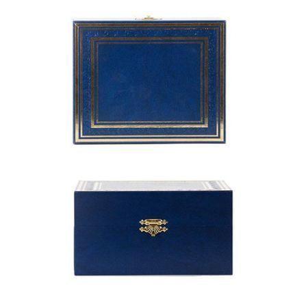Подарочный набор c латунированным подстаканником в футляре (3 предмета). Екатерина (фото, вид 6)