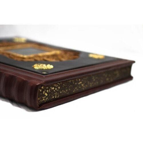 Подарочная книга в кожаном переплете. Дом Романовых (фото, вид 2)