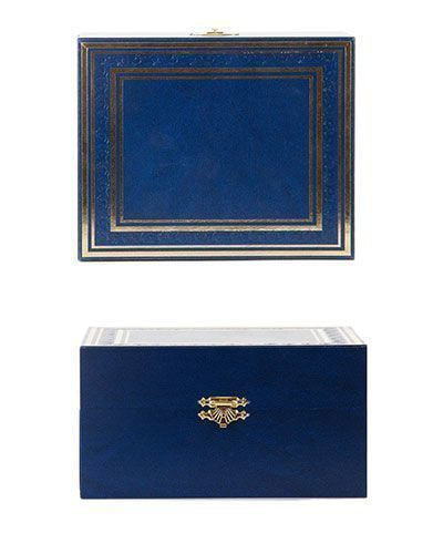 Подарочный набор c подстаканником в футляре (3 предмета). СССР (фото, вид 5)