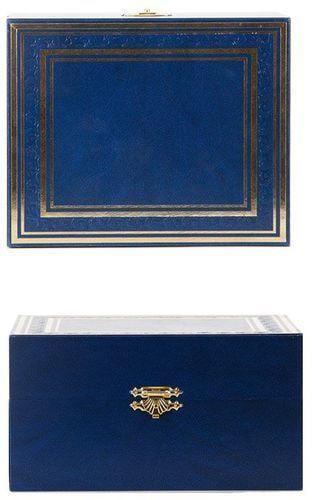Подарочный набор c подстаканником в футляре (3 предмета). С Юбилеем 75 лет (фото, вид 4)