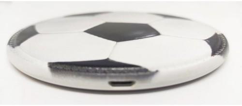 Беспроводное зарядное устройство. Футбольный мяч (фото, вид 3)