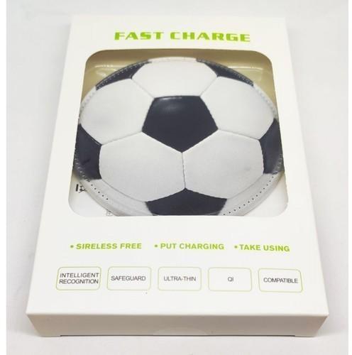 Беспроводное зарядное устройство. Футбольный мяч (фото, вид 4)