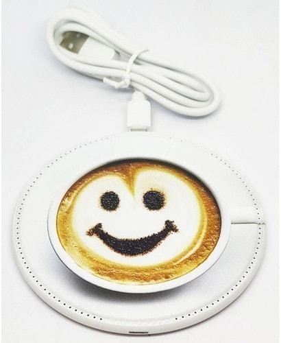 Беспроводное зарядное устройство. Чашка кофе (фото, вид 4)