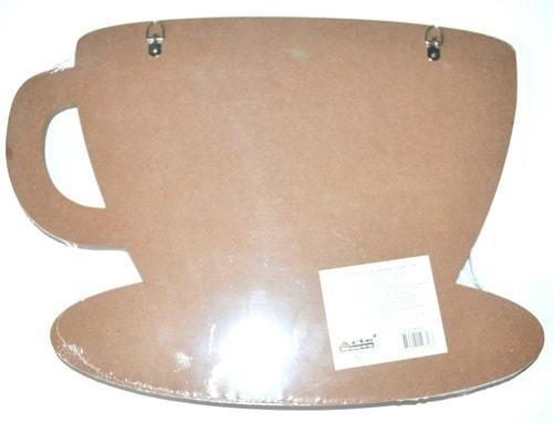 Винтажная деревянная ретро табличка с крючками. Кофе - это не просто напиток (30 x 40 см) (фото, вид 3)