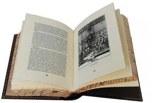 Подарочная книга в кожаном переплете. Масонство в его прошлом и настоящем (фото, вид 2)