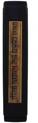 Подарочная книга в кожаном переплете. История железных дорог Российской империи (фото, вид 5)