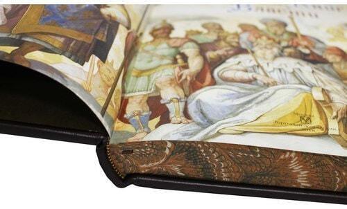 Книга в кожаном переплете и подарочном коробе. Большая Книга Власти (фото, вид 3)