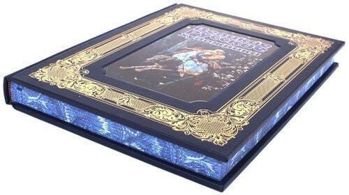 Книга в кожаном переплете и подарочном коробе. Великие русские художники (фото, вид 2)