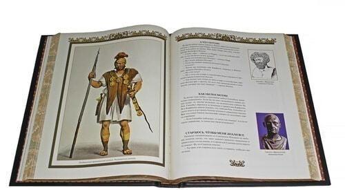 Книга в кожаном переплете и подарочном коробе. Притчи всех времен и народов (фото, вид 2)