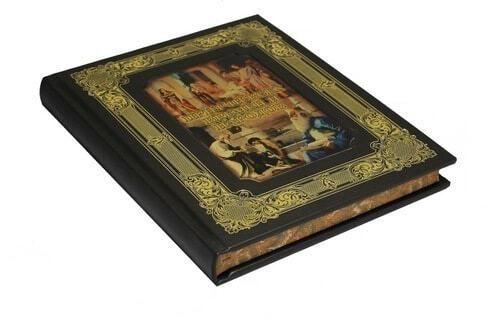 Книга в кожаном переплете и подарочном коробе. Притчи всех времен и народов (фото, вид 5)