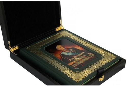 Книга в кожаном переплете и подарочном коробе. Суворов А.В. Наука побеждать (фото, вид 2)
