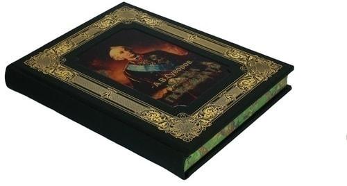 Книга в кожаном переплете и подарочном коробе. Суворов А.В. Наука побеждать (фото, вид 3)