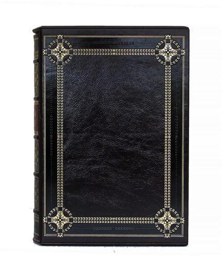 Подарочная книга в кожаном переплете. Русские князья (в футляре) (фото, вид 3)