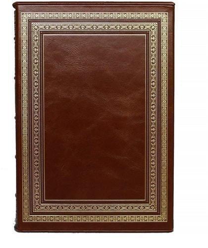 Подарочная книга в кожаном переплете. Исторический очерк развития железных дорог в России (в футляре) (фото, вид 4)