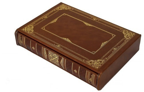 Подарочная книга в кожаном переплете. История Наполеона (в футляре) (фото, вид 3)
