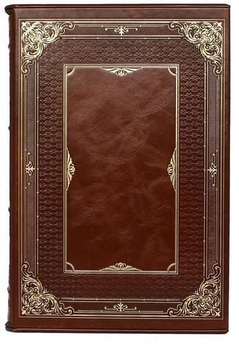 Подарочная книга в кожаном переплете. История Наполеона (в футляре) (фото, вид 4)