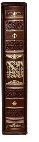 Подарочная книга в кожаном переплете. История Наполеона (в футляре) (фото, вид 5)
