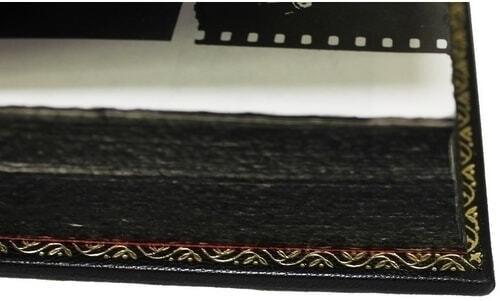 Подарочная книга в кожаном переплете. Высоцкий В. Собрание сочинений в 4-х томах (фото, вид 6)