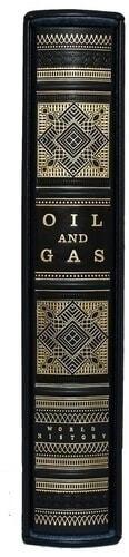 Подарочная книга в кожаном переплете. Нефть и газ. (на англ. языке) (фото, вид 4)