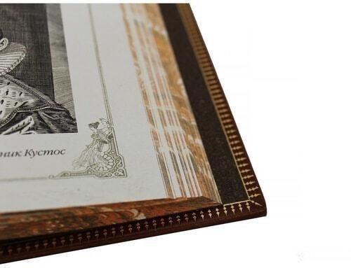 Подарочная книга в кожаном переплете. История музыки (фото, вид 3)