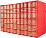 Подарочная книга в кожаном переплете. Пушкин А.С. Полное собрание сочинений в 10 томах (в коробе). Вид 2