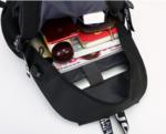 Рюкзак Fortnite флюрисцентный с USB-портом для зарядки и разъемом для наушников. Вид 2