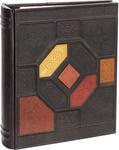 Подарочный большой фотоальбом из натуральной кожи. Мозаика | Коричневый. Вид 2