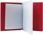 Кожаная обложка для автодокументов. Bubblies | Красный. Вид 2
