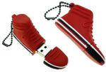 Подарочная флешка. Кроссовок (цвет красный). Вид 2