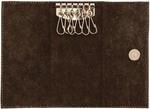 Кожаная ключница. Royal | Коричневый. Вид 2