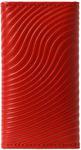 Кожаная ключница. Красный. Вид 2