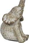 Декоративная металлическая фигурка. Слон. Вид 2