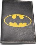 Кожаная обложка на паспорт. Бэтмен. Вид 2