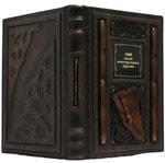 Подарочная книга в кожаном переплете. 1000 видов огнестрельного оружия. Вид 2