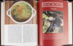 Подарочная книга в кожаном переплете. Русская охотничья кухня. Вид 2
