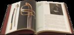 Подарочная книга в кожаном переплете. Русское наградное оружие. Вид 2