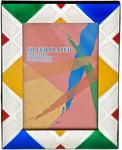 Подарочная фоторамка с цветной эмалью (под фото 10х15 см). Вид 2