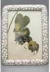 Ювелирная фоторамка с кристаллами. Белые цветы (под фото 13х18 см). Вид 2