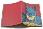 Кожаная обложка на паспорт. Супергерои. Бэтмен. Вид 2