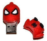 Подарочная флешка. Супергерои. Человек-паук. Вид 2