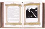 Подарочная книга в кожаном переплете. Великие имена. Георгий. Вид 2