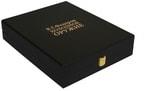 Книга в кожаном переплете и подарочном коробе. Холодное оружие. Вид 2