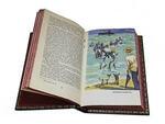 Подарочная книга в кожаном переплете. Генри О. Сочинения в 3-х томах. Вид 2