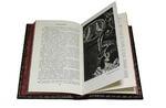 Подарочная книга в кожаном переплете. Ги Де Мопассан. Собрание сочинений в 7-ми томах. Вид 2